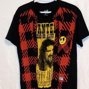 Cactus Jack Flannel Vest WWE T-Shirt
